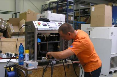 Použití systému Fri 3 oil ve firmě Veskom