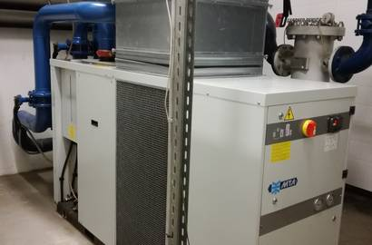 kondenzační sušič MTA, série DE ETM (vč. vzduchotechnického potrubí)