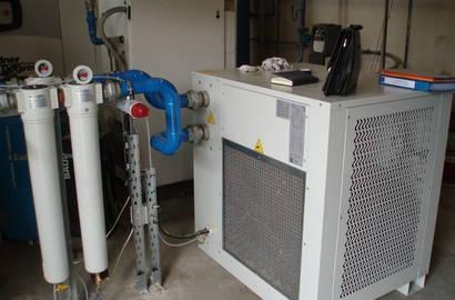 kompresorová stanice s kondenzačním sušičem MTA, série DEiT vč. filtrační sestavy MTA, série Puretec