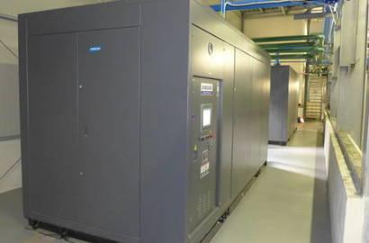 turbokompresor HANWHA Techwin, série SM (vč. odhlučněného krytu)