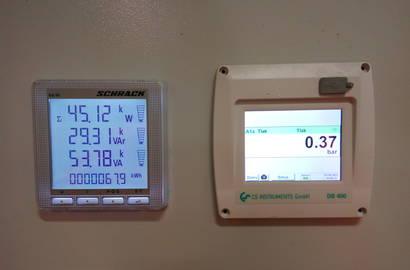 monitoring vakuové stanice
