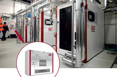Kompresorové stanice řízené systémem GD Connect 12