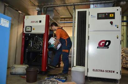 Servis kompresoru GD ESP 30