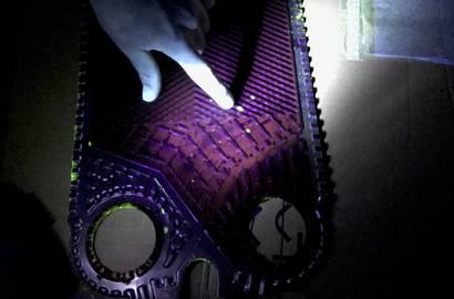 detekce prasklin pomocí UV