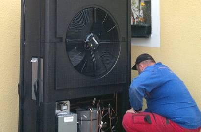 Servis tepelného čerpadla IVT AIR
