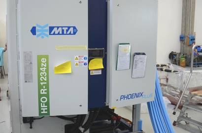 Chladič MTA  s novou chladivovou náplní R-1234ze
