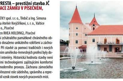 výstřižek z katalogu PRESTA Jižní Čechy 2016 - 2018