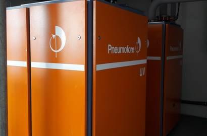 Lamelové vývěvy Pneumofore UV16 VS30