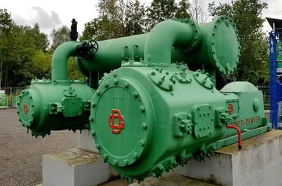 Historický kompresor GD H19115ED rok výroby 1948