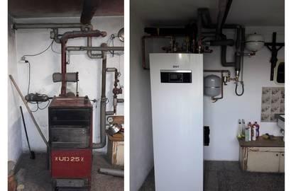 Výměna starého kotle za tepelné čerpadlo IVT