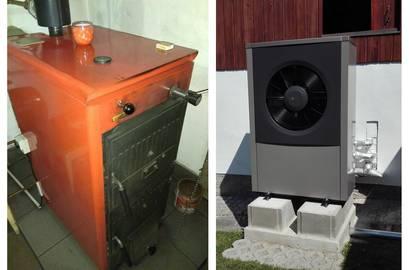 Výměna starého zařízení za tepelné čerpadlo IVT