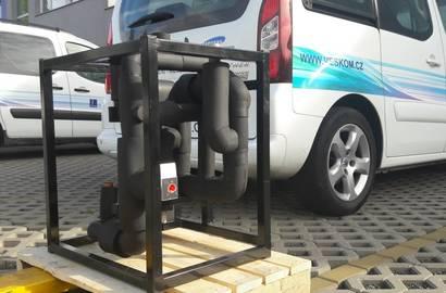 Chladící modul VESKOM CM připravený k odvozu zákazníkovi