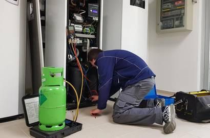 Kontrola těsnosti tepelného čerpadla