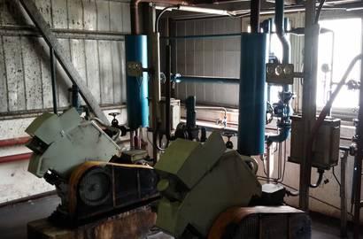 Kompresorová stanice před rekonstrukcí