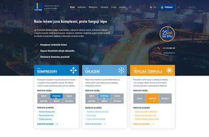 Spuštění nových webových stránek
