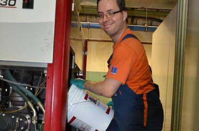 Pravidelná a prediktivní údržba kompresoru