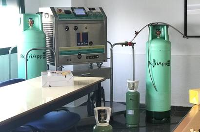 Modifikovali jsme náš systém FRI 3 Oil u španělského výrobce RefriApp