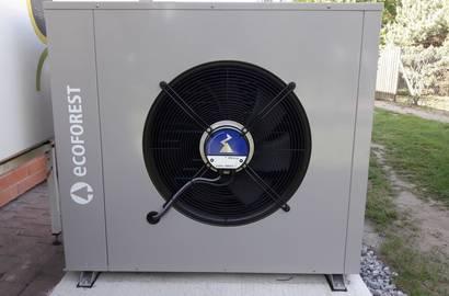 Výměna tepelného čerpadla za nový stroj ECOFOREST